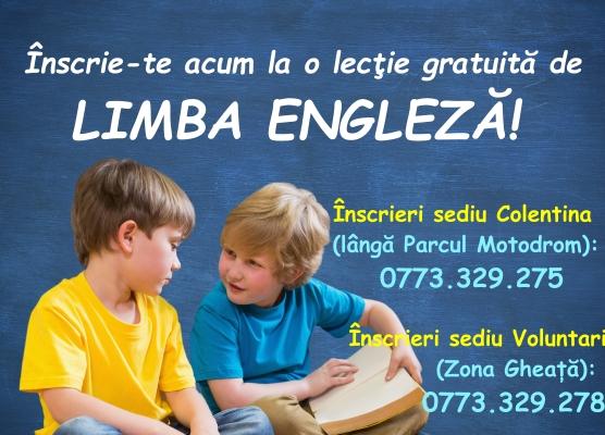 limba engleza