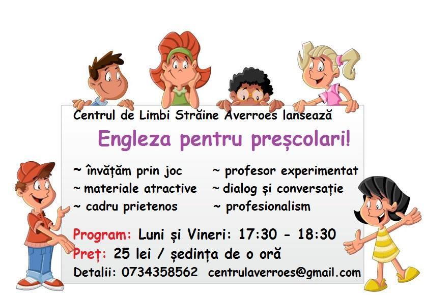 Engleza pentru cei mici!